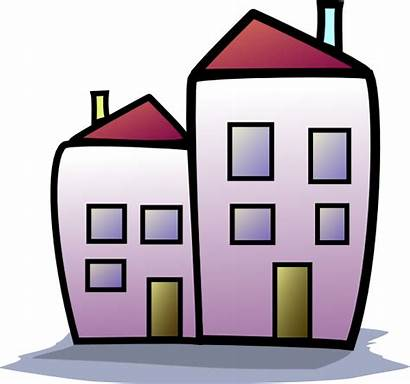 Clipart Clip Homes Houses Building Housing Animated
