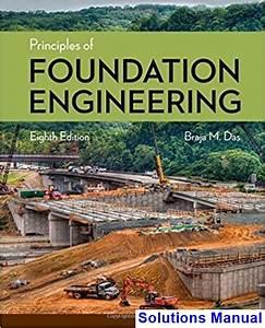 Principles Of Foundation Engineering 8th Edition Das