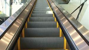 Escalator Going Up Stock Footage Video  100  Royalty