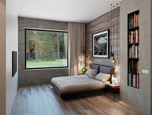 Modern small bedroom ideas house design and office small for Design for small bedroom modern