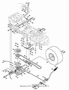 Mtd 13wx791t031 Parts List And Diagram