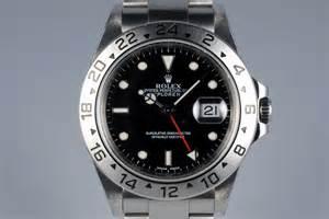 2002 Rolex Explorer II 16570 Black Dial