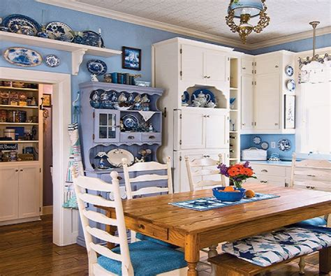 blue and green kitchen blue country kitchen designs and photos 4800