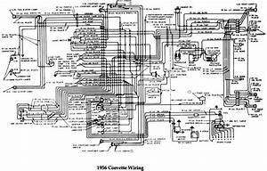 Chevrolet 1956 Corvette Wiring Electrical Diagram Manual