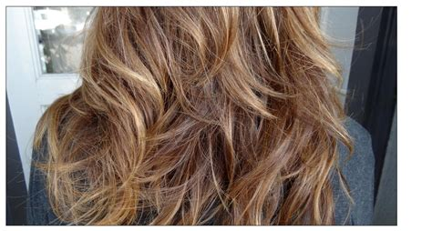 Medium Natural Brown Hair With Highlights