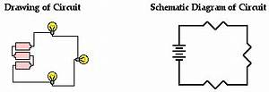 Electric circuits for Series and parallel circuit schematic diagrams follow the same symbols