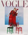 Cover of Vogue Czechoslovakia with Karen Elson, March 2019 ...
