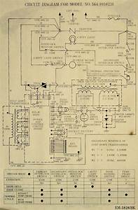 Sharp Microwave Oven Schematic Diagram
