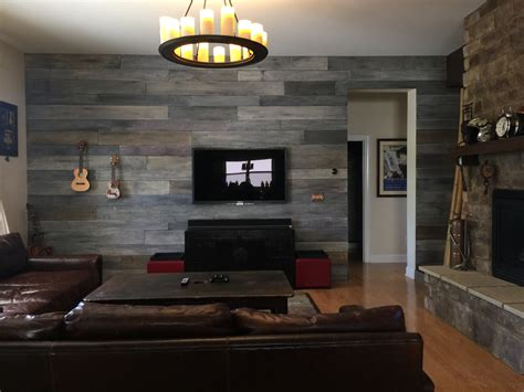 wood paneling design diy weathered barn wood wall lapse
