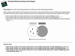 Solving Problems By Using A Venn Diagram Lesson Plan For