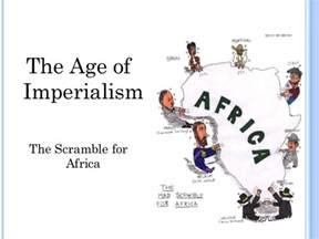 Scramble for Africa Imperialism