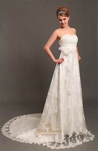 ivory lace strapless sweetheart wedding dresses vintage With vintage ivory lace wedding dress