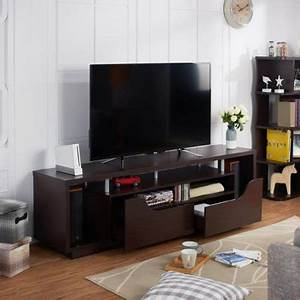 Furniture Of America Arkyne Modern Espresso 70 Inch TV