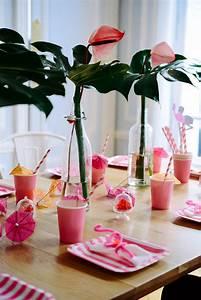 Deco Table Tropical : pr parer un anniversaire fille flamingo party 2 ~ Teatrodelosmanantiales.com Idées de Décoration
