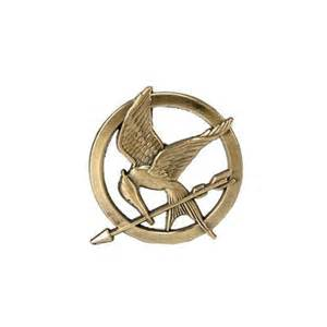 New the hunger games mockingjay pin prop replica ...