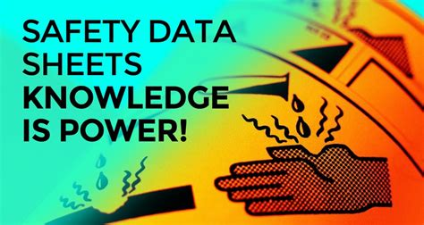 safety data sheets knowledge  power checkers