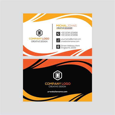 professional business card design   vectors