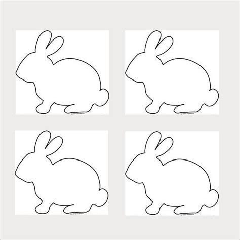 easter bunny cut out template 89047 9 bunny templates pdf doc free premium templates