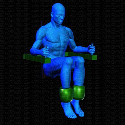 exercice chaise romaine abdominaux court à la chaise romaine technique et dé