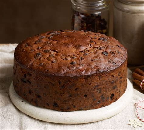 buttered rum christmas cake bbc good food