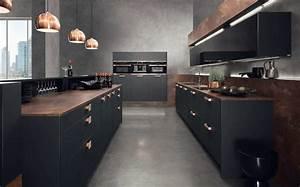 Kochinsel Mit Bar : ideen f r deine neue schwarze kochinsel bilder von edlen ~ Michelbontemps.com Haus und Dekorationen