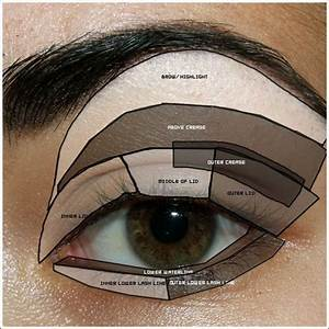 Makeup Tips For Beginners  Eyeshadow Placement  U0026 Eye
