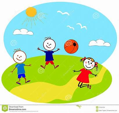 Outside Clipart Playing Children Play Clip Boy