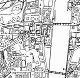 Map Coloring Westminster Neighborhood Maps London Adult Obsessed sketch template