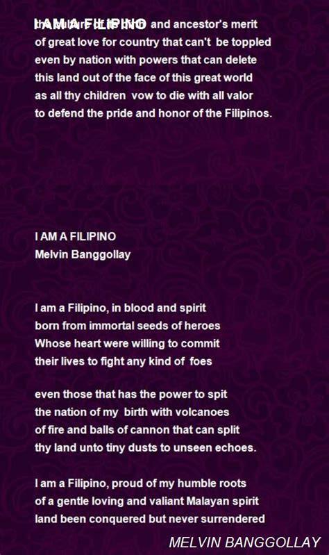 filipino poem  melvin banggollay poem hunter