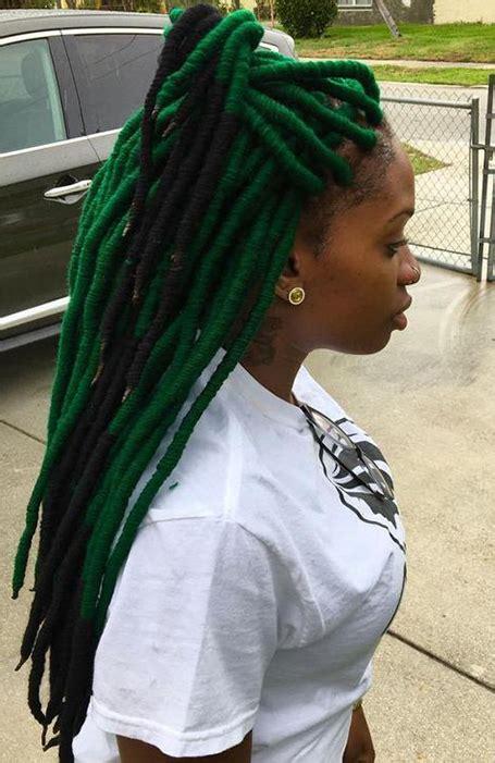 cool dreadlock hairstyles  women  trend spotter