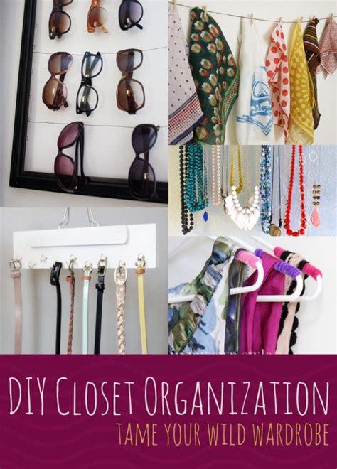 diy closet organization spark