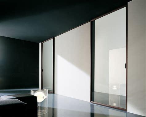 sliding doors design with aluminum frames and glass door
