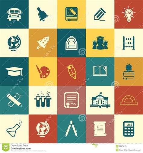 education icons royalty  stock photo image