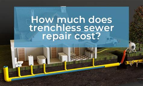 How Much Does It Cost To Repair A Garage Door by How Much Does Trenchless Sewer Repair Cost Sewer Pros
