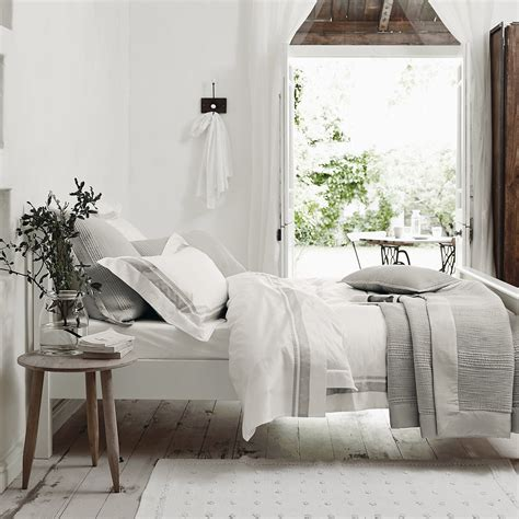 The Bedroom Company by Brompton Bed Linen Collection Bedroom The White