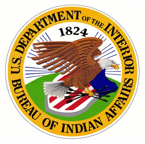 united states bureau of indian affairs file bureau of indian affairs seal n11288 png wikimedia