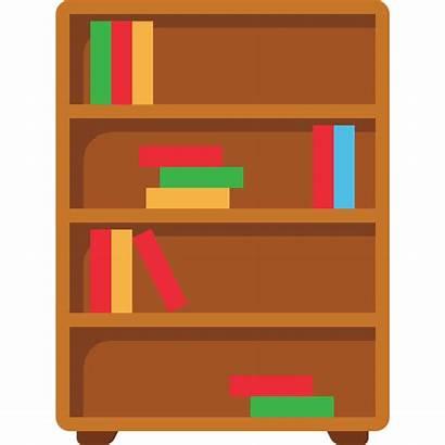 Bookshelf Gratis Estante Libros Icono Icons Flaticon