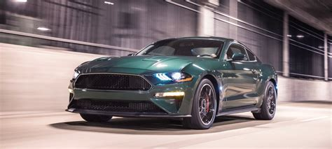 2019 Ford Mustang Bullitt Arrives In Detroit With 475