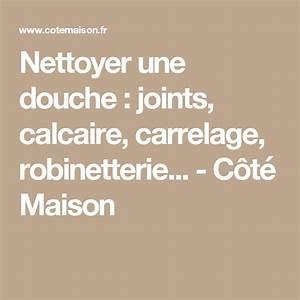 Nettoyer Joint Douche : 17 best ideas about joint douche on pinterest joint de ~ Premium-room.com Idées de Décoration