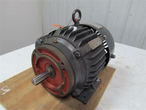 Emerson Electric Motors by Emerson Us Motors A32p1c B654 1 5hp 3ph Electric Motor