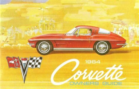 chevrolet corvette  owners manual manuals