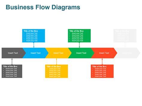 business flow diagrams editable powerpoint