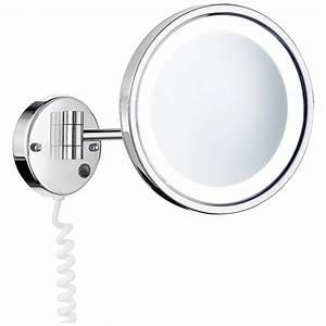 Großer Schminkspiegel Mit Beleuchtung : kosmetikspiegel mit beleuchtung wandmontage ks09 hitoiro ~ Bigdaddyawards.com Haus und Dekorationen