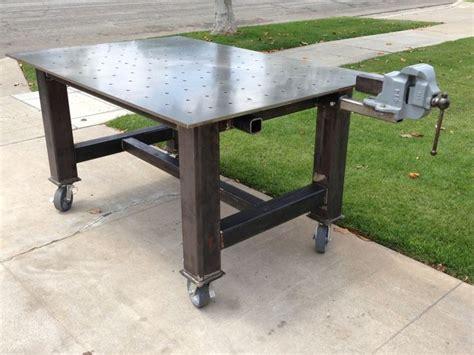 steel welding table plans 61 best welding shop table images on pinterest welding