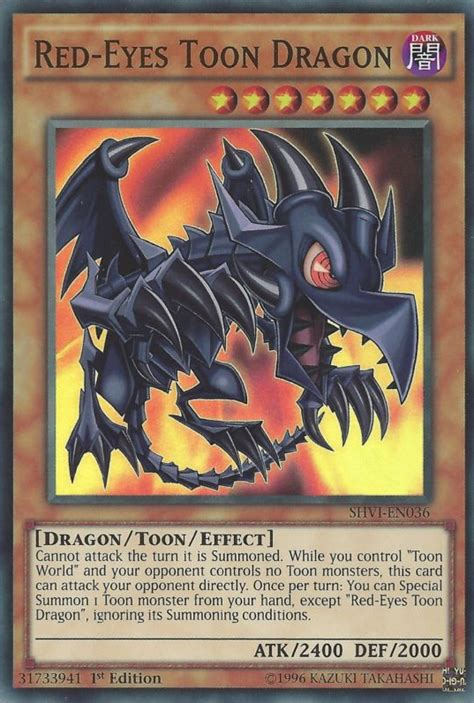 Redeyes Toon Dragon  Yugioh!  Fandom Powered By Wikia