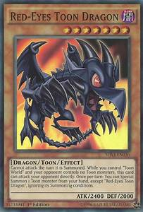 Red Eyes Toon Dragon Yu Gi Oh Fandom Powered By Wikia