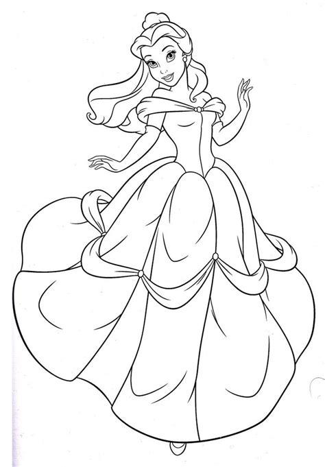 color pages disney princess coloring pages princess