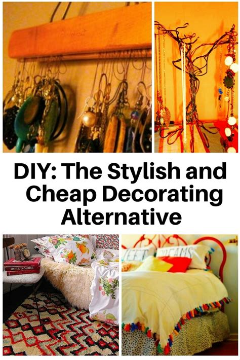 Diy The Stylish And Cheap Decorating Alternative  The