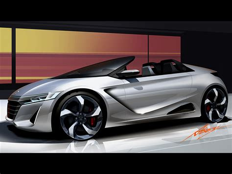 Honda Concept Cars by Honda S660 Concept 2013 Car Pictures 06 Of 16