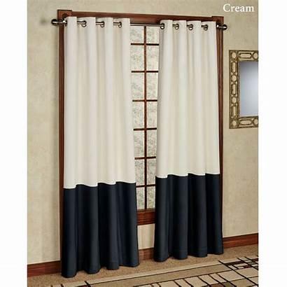 Grommet Panel Curtain Block Consider Might Aqua